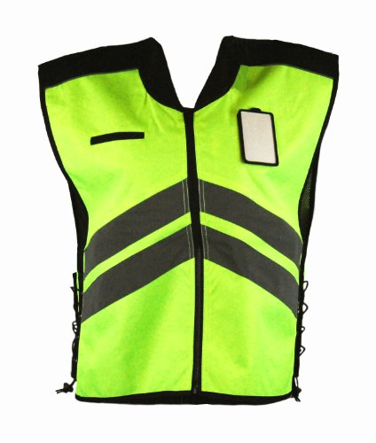 Vega Helmet High Visability Yellow Safety Vest Yellow X-Large to XXX-Large
