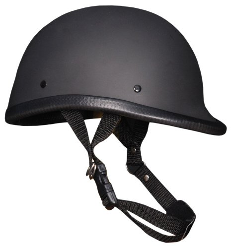 Novelty Helmet Hawk Flat Black