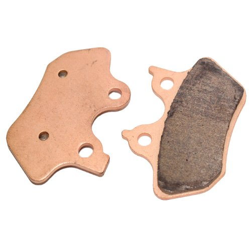 Caltric Rear Brake Pads Fits HARLEY DAVIDSON FXDL FXDLi Dyna Low Rider 1450cc 2000-2006