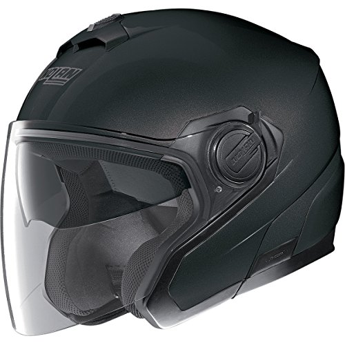 Nolan N40 MCS 2 Flat Black Open Face Helmet XL