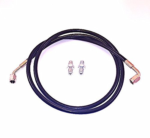 Tier1 Motorsports Stainless Steel Clutch Line 92-00 Civic 94-01 Integra Black Complete Replacement