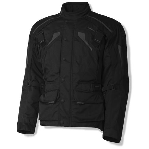 Olympia Durham Mens Textile Motorcycle Jacket Black SM