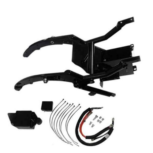 Fat Baggers Inc Drop Seat Frame Kit for Harley Davidson 2014-15 Touring models - One Size