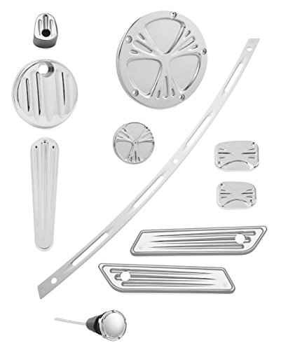 Arlen Ness Deep Cut Chrome Accessory Package