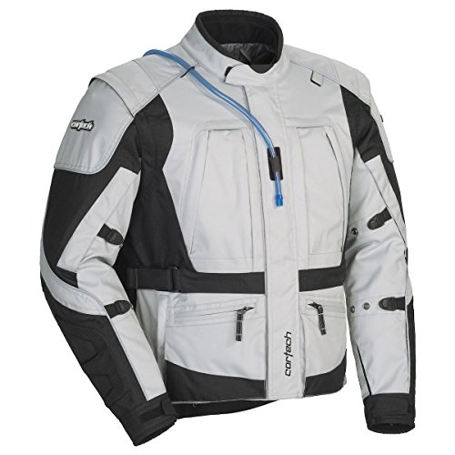 Cortech Mens Sequoia XC Adventure Touring JacketGreyBlack XXX-Large 1 Pack