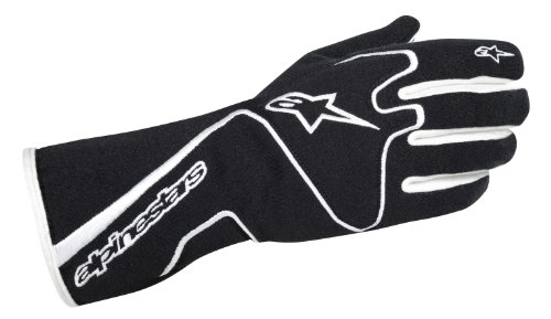 Alpinestars 355111312L Tech 1 Race Gloves Black Large