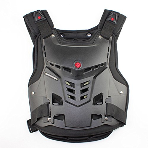 AB Crew Motorcycle Body Armor Adult Street Bike Chest Protector Off-Road Dirt Bike Vest Protector