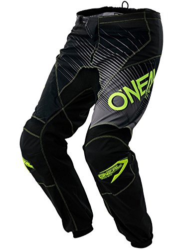 Oneal Black-Hi Viz 2018 Element Racewear Mx Pant 34 Waist  Black