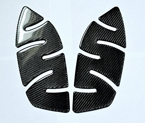 TRIUMPH STREET TRIPLE 675 R ABS Real Carbon Fiber Knee pads grip Tank PROTECTOR trim Stickers
