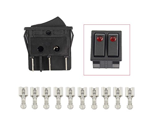 New by XtremeAmazing Canal R Series Electric Space Heater Rocker Switch Lakewood Delonghi 16A 20A