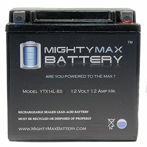 YTX14L-BS Replaces Harley-Davidson Sportster 1200 Low XL1200L 06-11 - Mighty Max Battery brand product