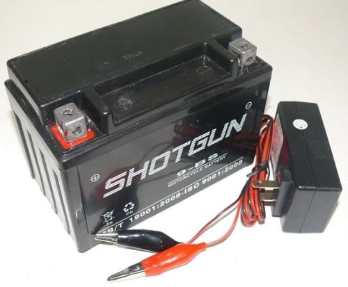 YTX9-BS ATV BatteryCharger 12V for Honda TRX400EX FourTrax Sportrax 1999-2009