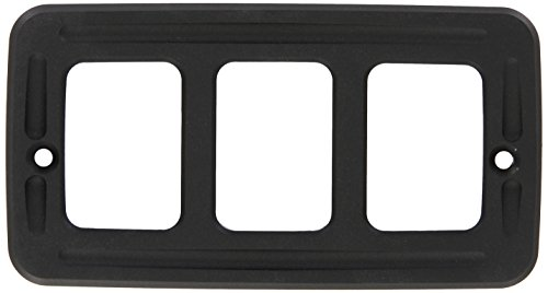 All Sales 3402K Black Turn Signal Cover for Jeep Wrangler TJ - Pair