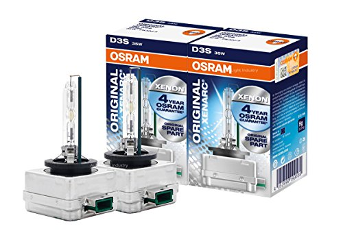OSRAM XENARC D3S HIDXENON Headlight bulbs 66340HBI - Pack of 2 …