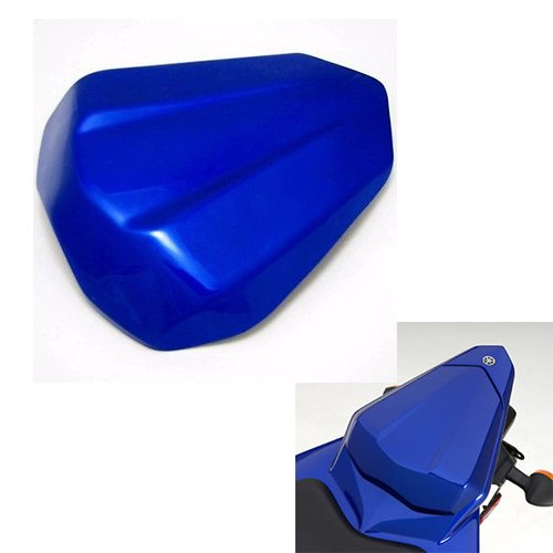 Motorcycle Blue Rear Passenger Pillion Seat Cowl Pad Hard ABS Motor Fairing Tail Cover for 2006-2007 Yamaha YZF R6 06-07